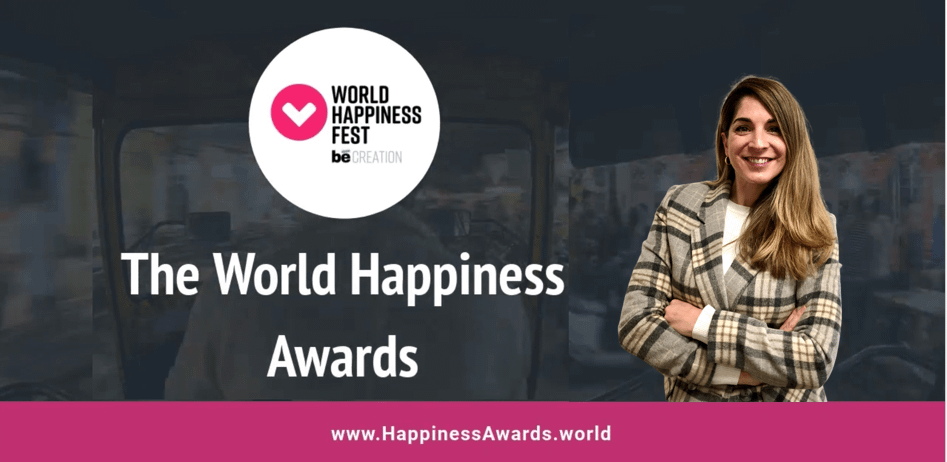 Dina Álvarez, nominated for The World Happiness Awards 2020